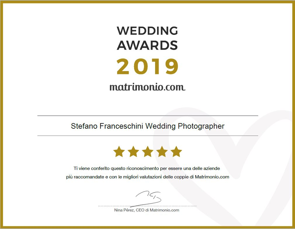 Wedding Awards Stefano Franceschini